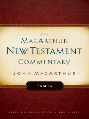 cover image of James MacArthur New Testament Commentary