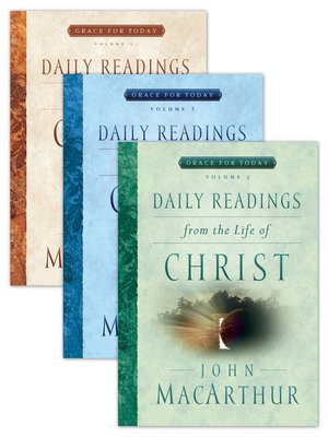 cover image of Daily Readings From the Life of Christ Volumes 1-3