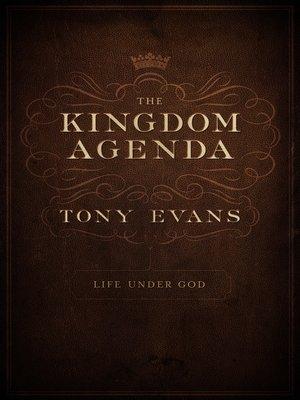 cover image of The Kingdom Agenda