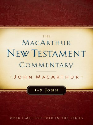 cover image of 1-3 John MacArthur New Testament Commentary