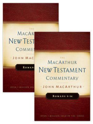 cover image of Romans 1-16 MacArthur New Testament Commentary Two Volume Set