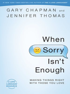 cover image of When Sorry Isn't Enough