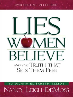 cover image of Lies Women Believe