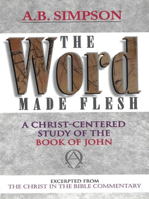 cover image of Word Made Flesh