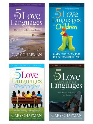 cover image of The 5 Love Languages/The 5 Love Languages Men's Edition/The 5 Love Languages of Teenagers/The 5 Love Languages of Children Set