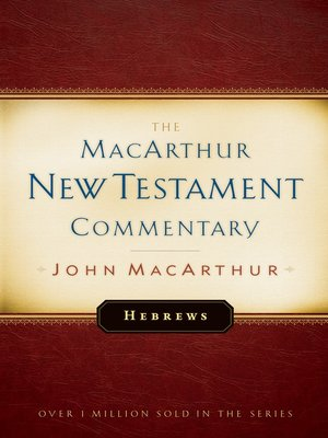 cover image of Hebrews MacArthur New Testament Commentary