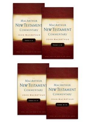 cover image of Luke 1-24 MacArthur New Testament Commentary Set