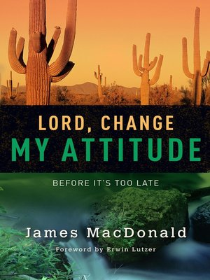 cover image of Lord, Change My Attitude