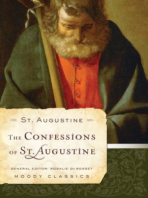 cover image of The Confessions of St. Augustine