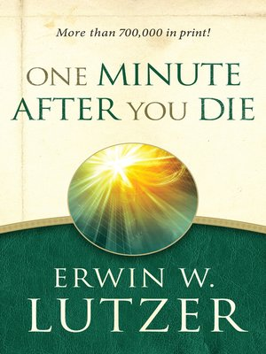 cover image of One Minute After You Die