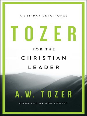 cover image of Tozer for the Christian Leader