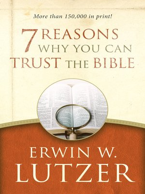 cover image of 7 Reasons Why You Can Trust the Bible