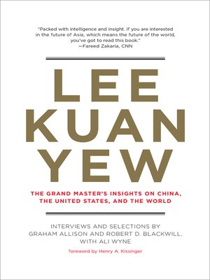 cover image of Lee Kuan Yew