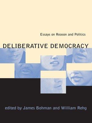 cover image of Deliberative Democracy