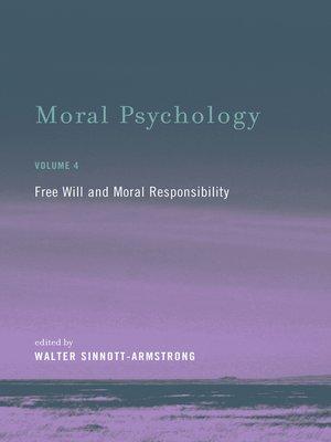 cover image of Moral Psychology