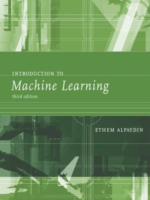 cover image of Introduction to Machine Learning