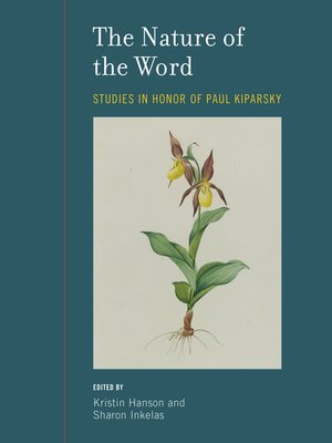 cover image of The Nature of the Word