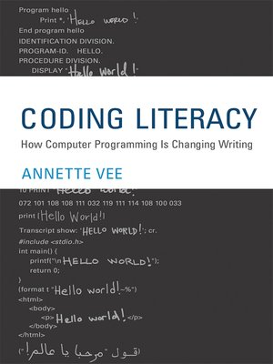 cover image of Coding Literacy
