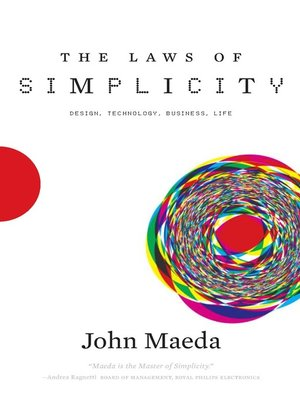 cover image of The Laws of Simplicity