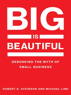 cover image of Big Is Beautiful