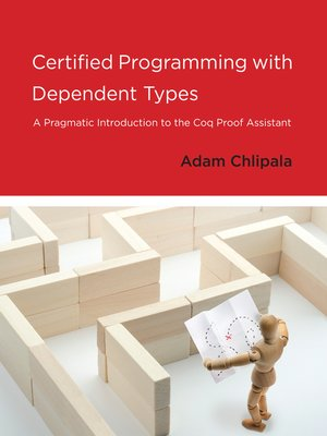 cover image of Certified Programming with Dependent Types