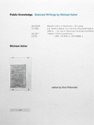 cover image of Public Knowledge