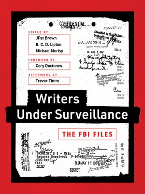 cover image of Writers under Surveillance
