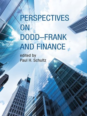 cover image of Perspectives on Dodd-Frank and Finance