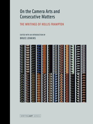 cover image of On the Camera Arts and Consecutive Matters