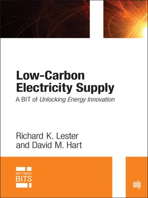 cover image of Low-Carbon Electricity Supply