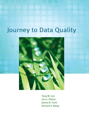cover image of Journey to Data Quality