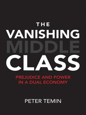 cover image of The Vanishing Middle Class