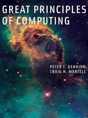 cover image of Great Principles of Computing
