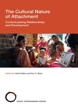 cover image of The Cultural Nature of Attachment