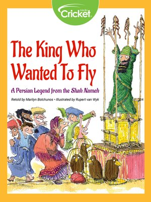 cover image of The King Who Wanted to Fly