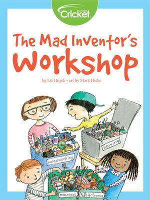 cover image of The Mad Inventor's Workshop