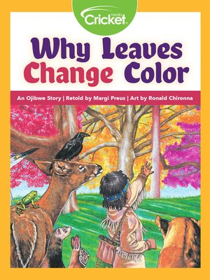 cover image of Why Leaves Change Color