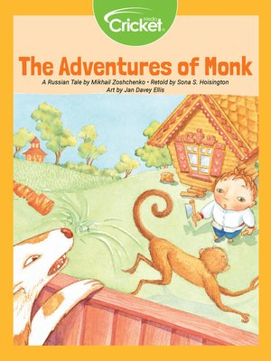 cover image of The Adventures of Monk
