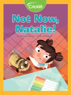 cover image of Not Now, Natalie