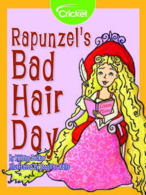 cover image of Rapunzel's Bad Hair Day