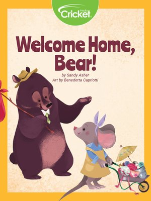 cover image of Welcome Home, Bear!