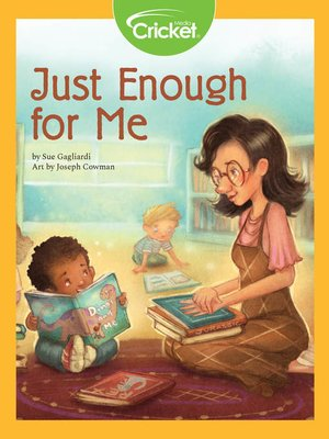 cover image of Just Enough for Me