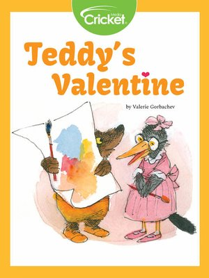 cover image of Teddy's Valentine