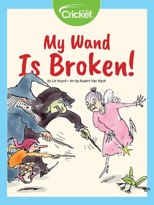 cover image of My Wand is Broken