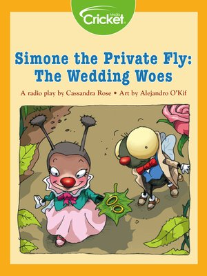 cover image of Simone the Private Fly