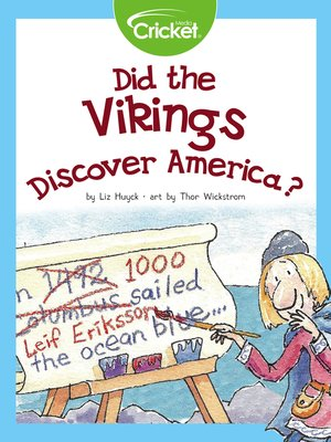 cover image of Did the Vikings Discover America?