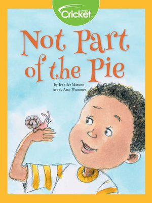 cover image of Not Part of the Pie