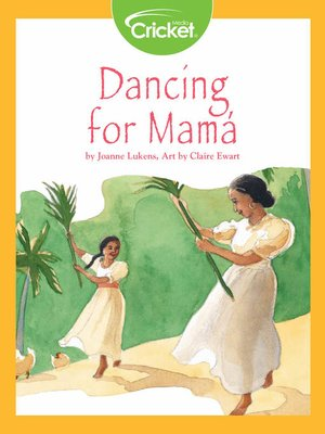 cover image of Dancing for Mamá