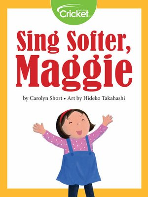cover image of Sing Softer, Maggie