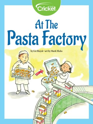 cover image of At the Pasta Factory